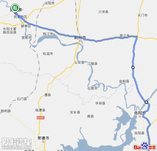 最新宜昌到深圳自驾车路线图