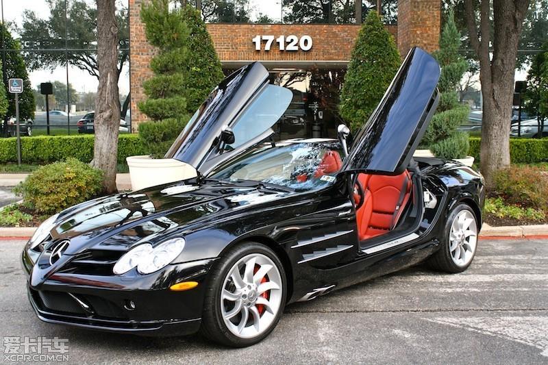 跑车 07年黑色奔驰迈凯轮slr 奔驰想用这样的造型 高清图片