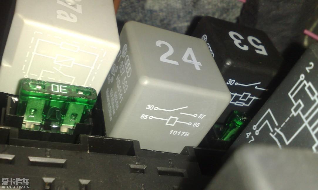 桑塔纳13号继电器图片