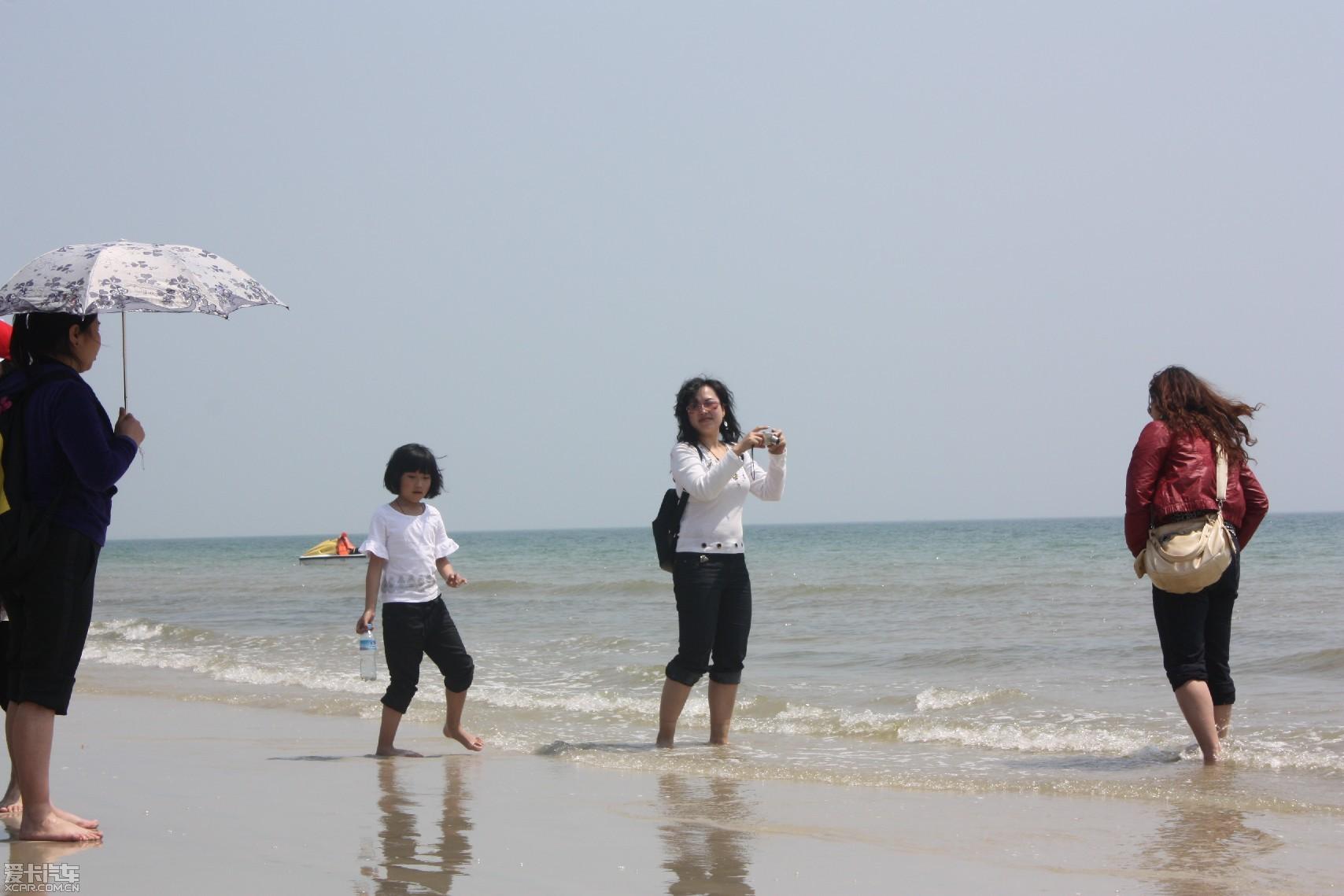 【精华】沙滩海岸美女还有美女,广西北海行阳光搓搓图片