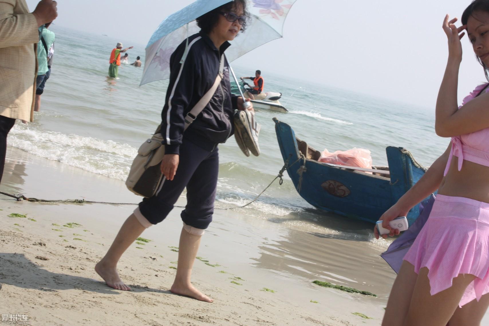 【美女】阳光海岸美女还有故事,广西北海行_第精华沙滩踢图片