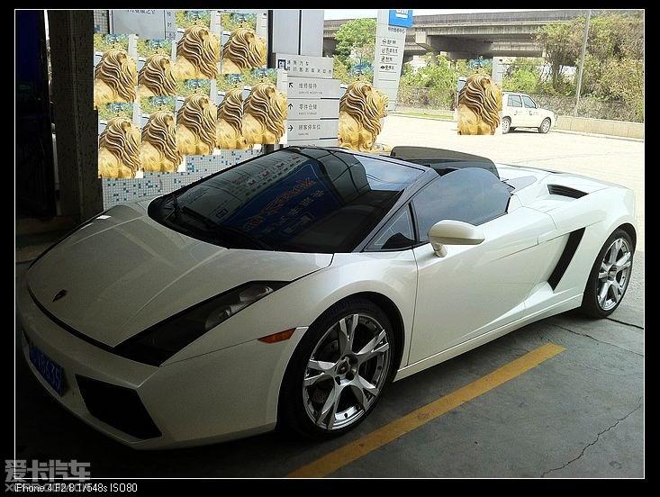 现货2008兰博基尼,盖拉多敞篷,罕有白色版 已售高清图片