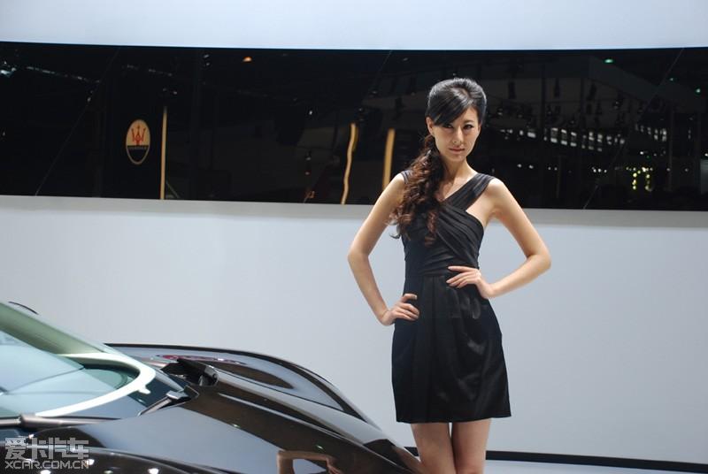 【车模】上海美女走马观花乱拍精华车展曲美女西图片