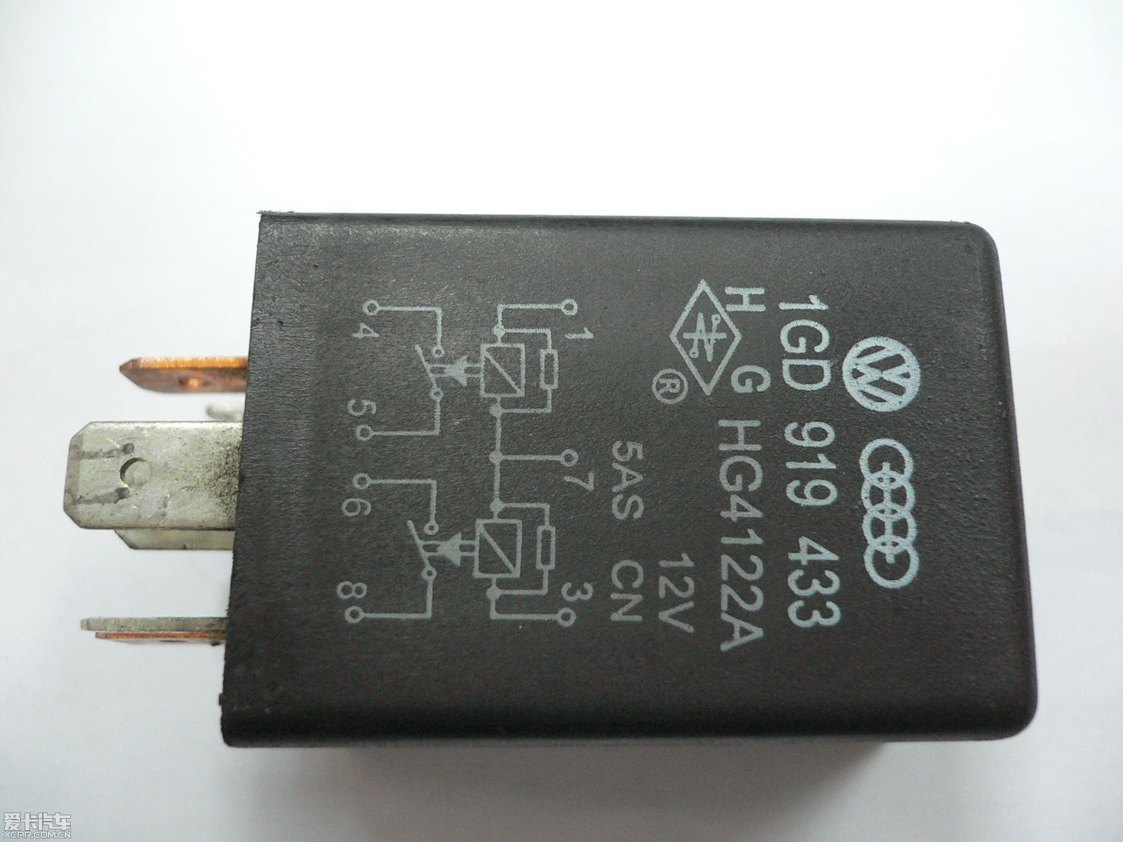 99年捷达转向继电器电路图