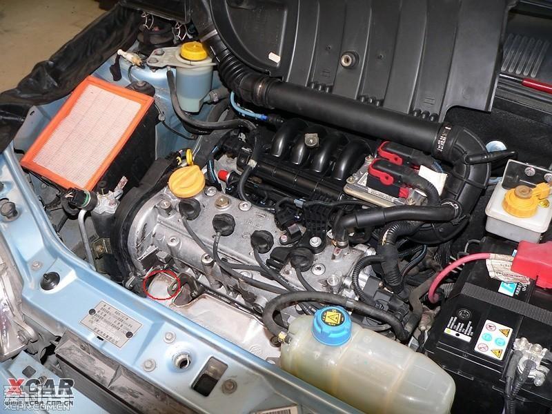 我的菲亚特05年的派力奥发动机号在发动机什么地方