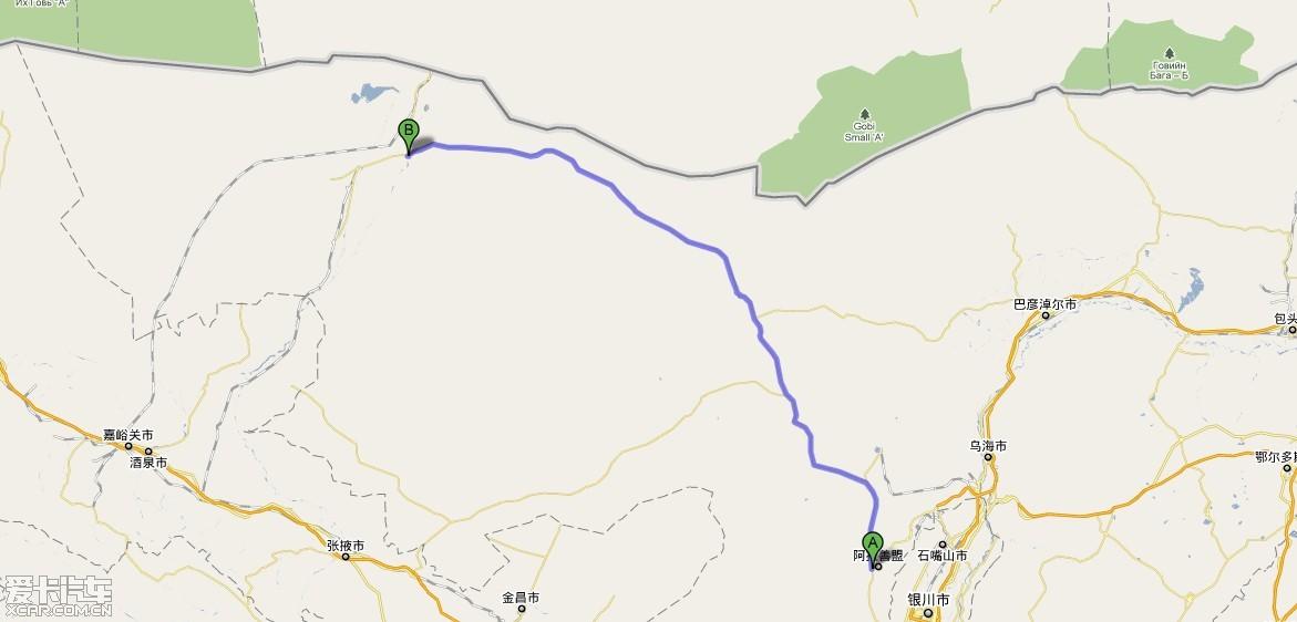 西安东胜乌梁素海阿拉善额济纳银川6d4000km,随意的放飞之旅,附精彩大
