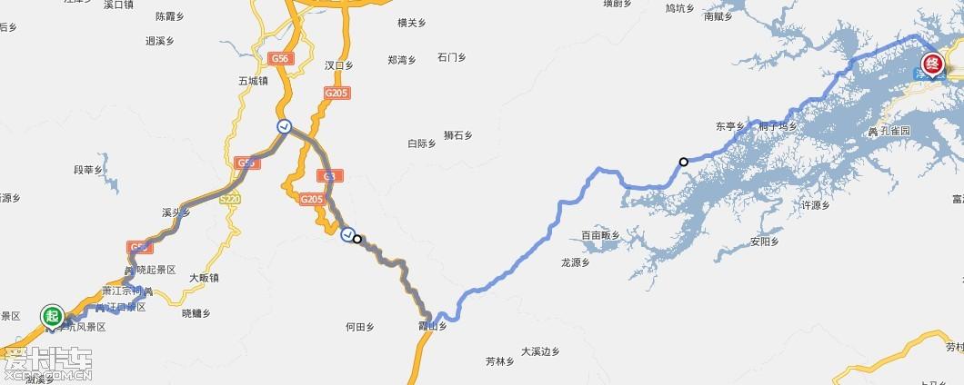 老牛走千里-50小时自驾游:上海,三清山,婺源,千岛湖,朱家角