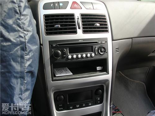 标志307升级美国锐克喇叭 汽车音响!