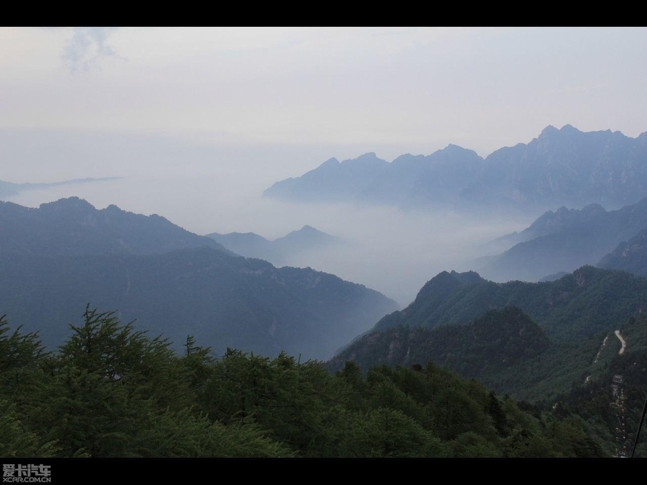 自驾陕西太白山国家森林公园