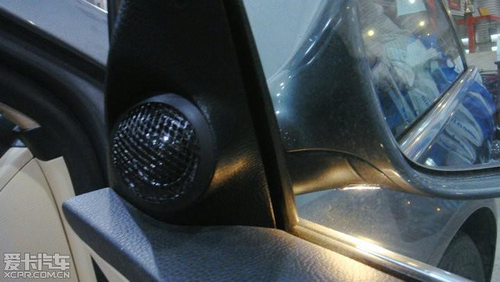 大众迈腾汽车音响改装高清图片