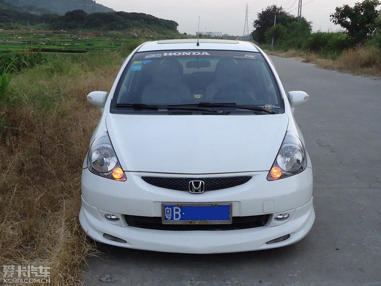 私人转让07年广州本田飞度自动挡白色最高配置高清图片