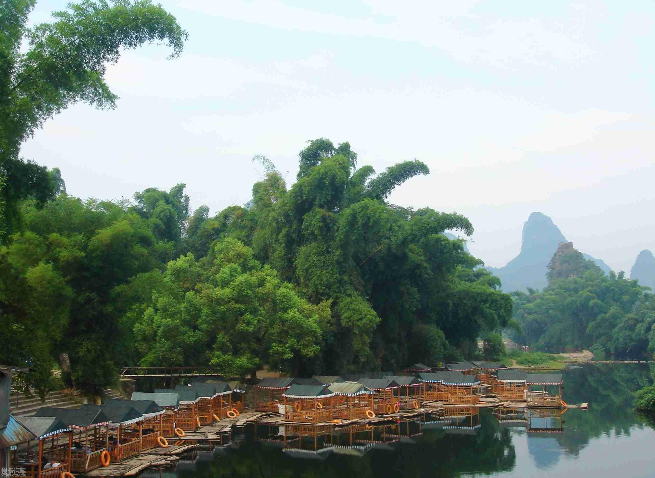 山水竹林风景壁纸,全球最美的山水风景,竹林山水荷花风景 第4页