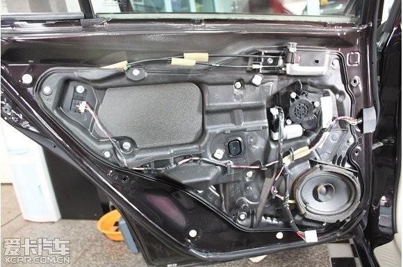 马自达6汽车音响改装高清图片
