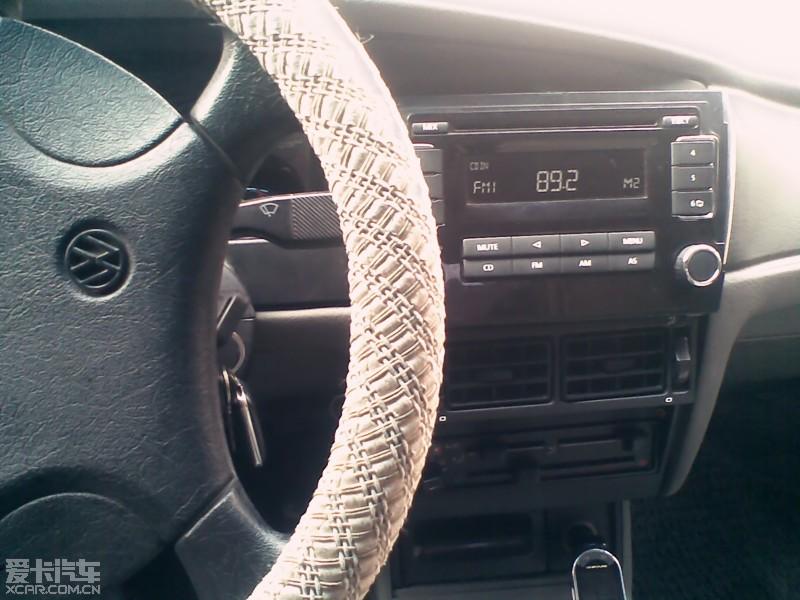 桑塔纳2000改装cd,空调出风口