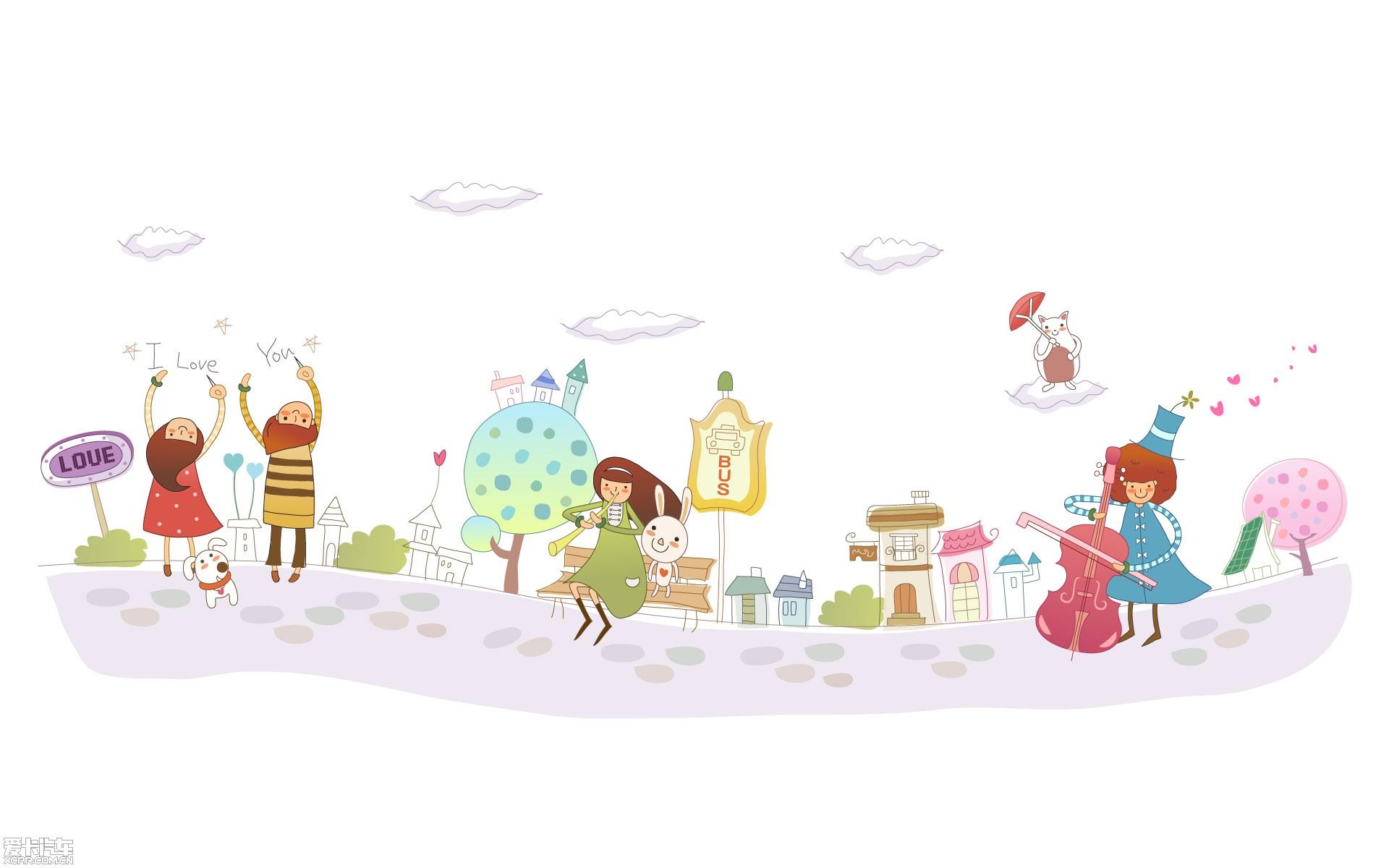 【精华】可爱的简笔插图