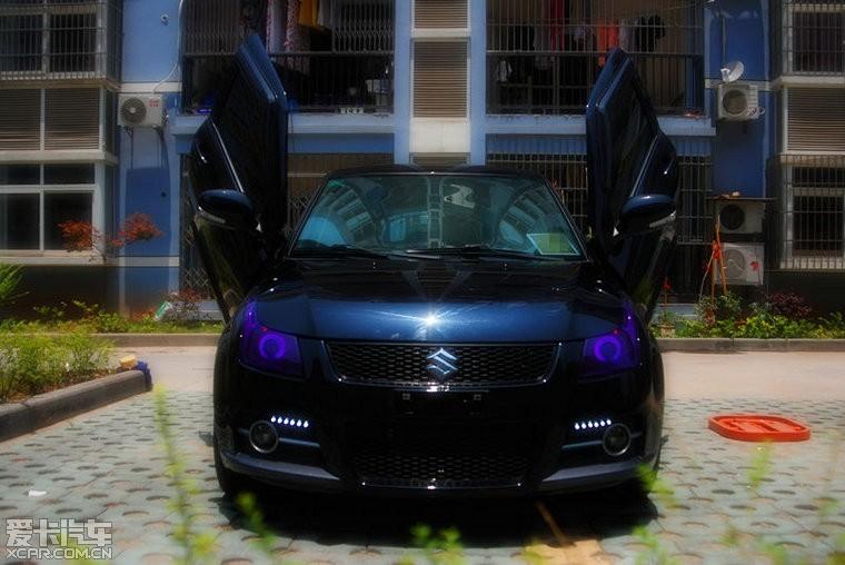 有谁知道发动机盖怎么改么 雨燕论坛 xcar 爱卡汽车俱乐部高清图片