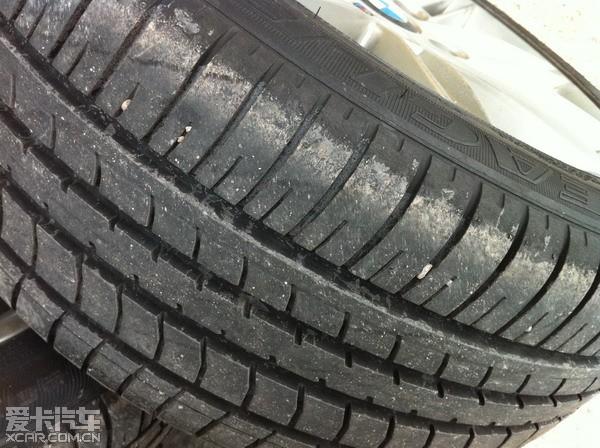 出运动版原车胎四条   固特异 nct5花纹的   前205 50 17