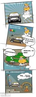 MINIE路试漫画:教你学会MINIE的语言!