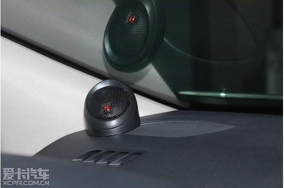 标致408高性价比音响改装,升级 摩雷玛仕舞 喇叭高清图片