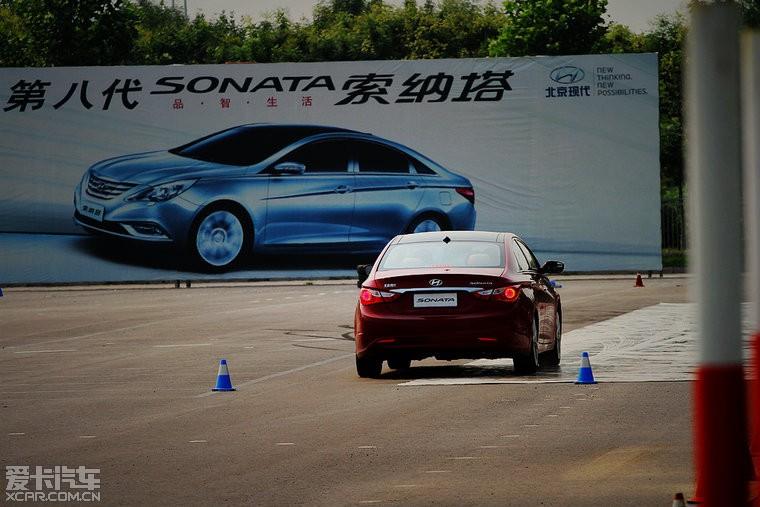 """【昨日参观""""北京现代""""汽车制造第二工厂和试乘试驾第八代""""索纳塔高清图片"""