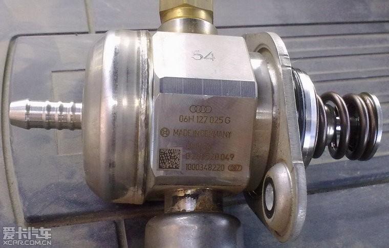 燃油压力调节阀(燃油高压泵)坏了,1.8t转速上不了3000图片
