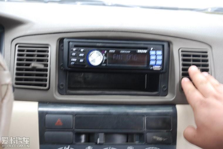 比亚迪f3简配收音机升级cd