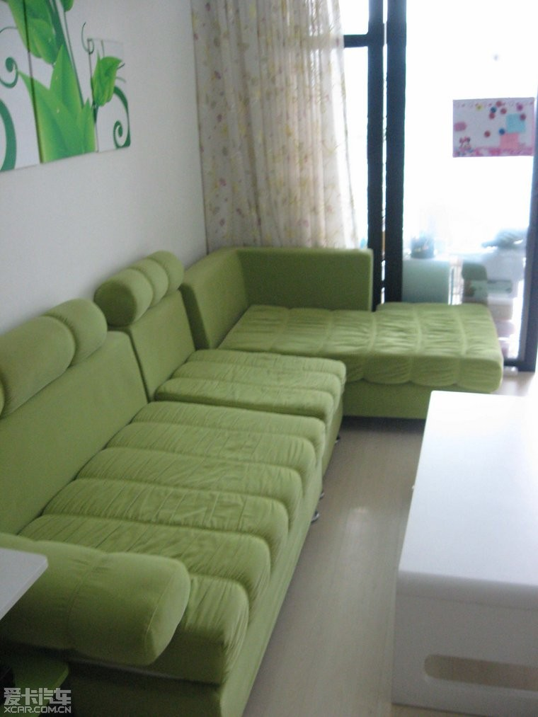 绿沙发搭配图片