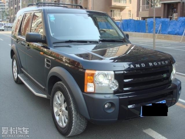 辽宁沈阳出售一台巨新 顶配 黑色路虎发现3 特价 二手车论坛 二手车交高清图片