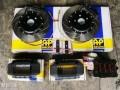 新君威改装升级AP7040大六刹车19寸GS轮毂EBICH短簧REMUS排气