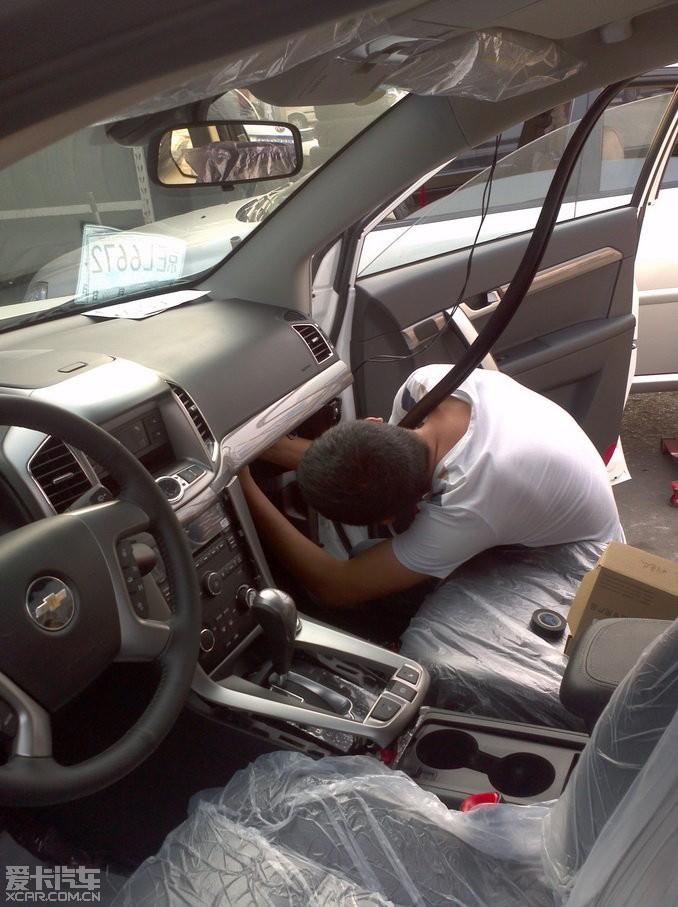 24新科帕奇安装导航,倒车影像和胎压监控的作业