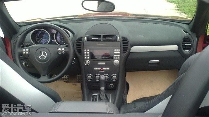 奔驰slk350红色 slk350奔驰价格 奔驰slk350报价高清图片