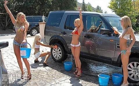 我要是在北京开个比基尼洗车店能火吗?