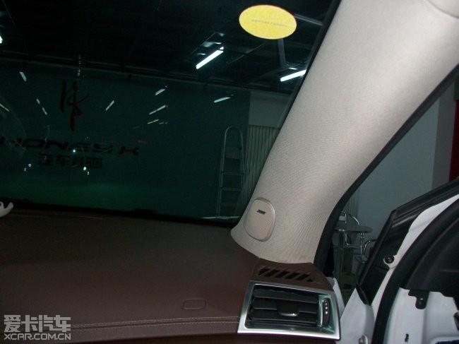 凯迪拉克汽车音响改装,音响升级惠威D620高清图片