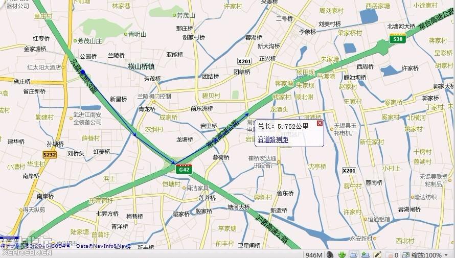 杭州,嘉兴等方向过来转g2京沪南京方向,再转s19锡通高速南通方向