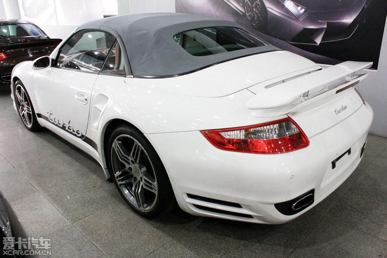 > 上海出售保时捷911 turbo 3.6t 白色红内饰 灰色软顶敞篷