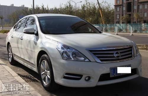 【白色新天籁提车作业.】-购车网高清图片