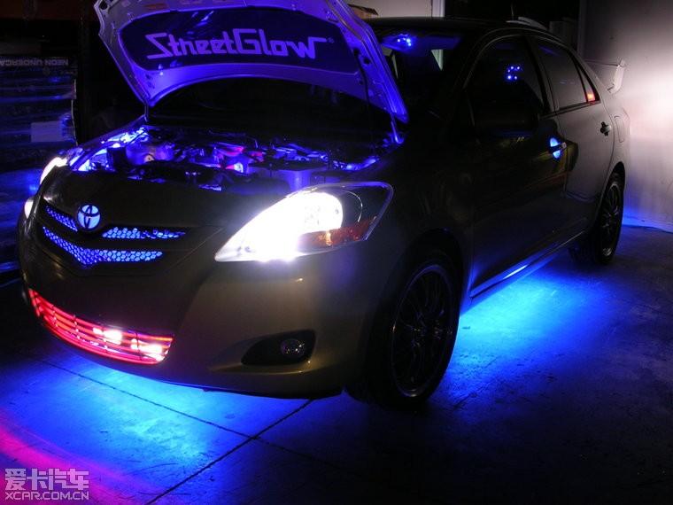 灯饰品牌:StreetGlow 美国著名汽车灯饰品牌 也是电影《速...