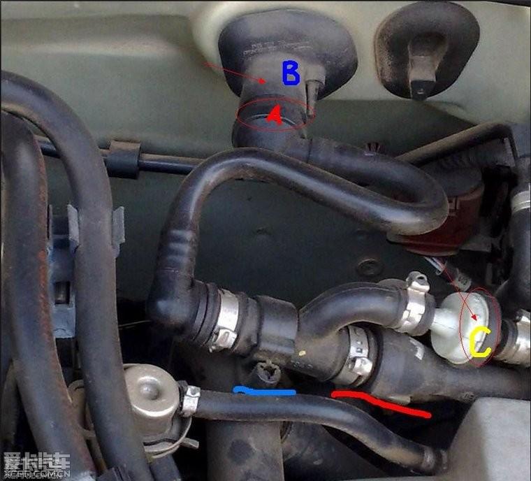 汽车论坛大全 帕萨特论坛|帕协 03 正文  接着检查,图片中c 的单向图片