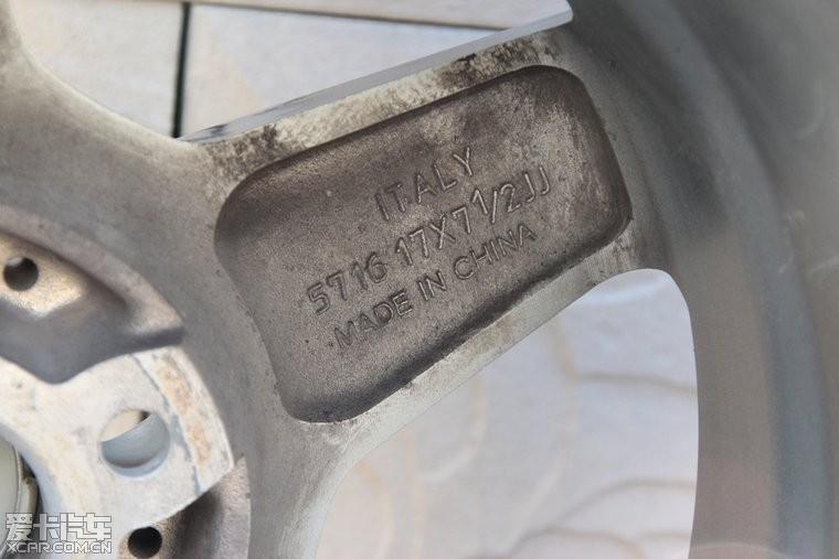 出一套17寸仿amg轮毂高清图片