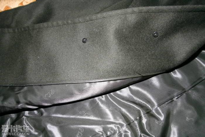 全新闲置 2007年度陆军 常服校尉大衣 羊绒风衣图片