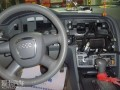 大连汽车音响改装-奥迪A6L升级原车导航/安装解码器
