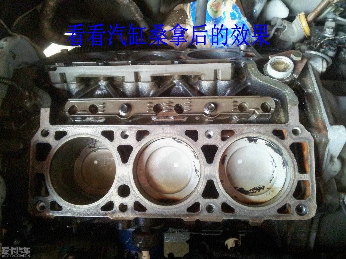 老八更换缸垫修理包,清洗发动机内部积碳作业,拆卸部分多图上传,未完