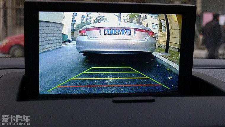 装gps导航和倒车影像