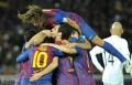 世俱杯-梅西2球哈维小法破门巴萨4-0桑托斯夺冠
