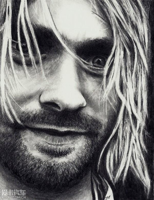 好莱坞明星肖像铅笔画欣赏(2)
