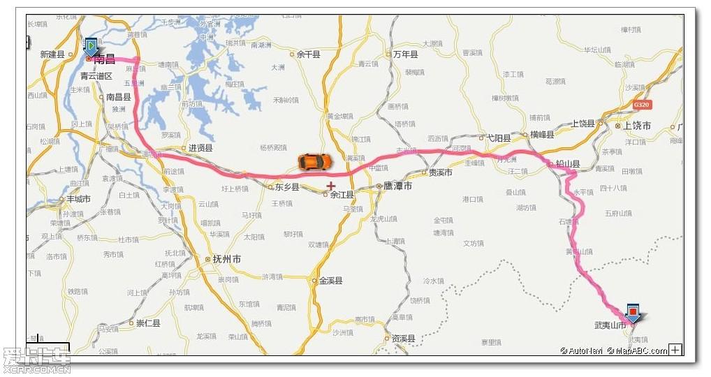 上饶县乡镇地图