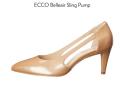 转双ECCO女高跟鞋