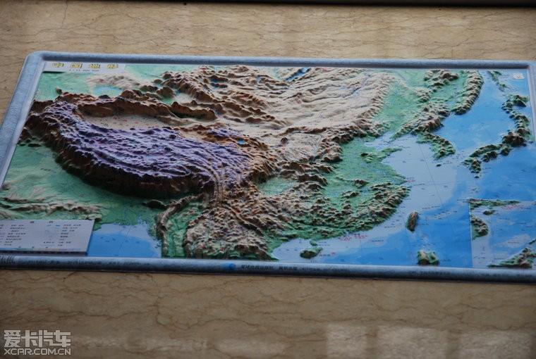 立体地形图
