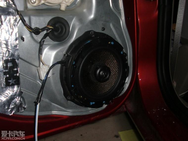 > 汽车隔音降噪---福特福克斯升级原车音响施工分享!