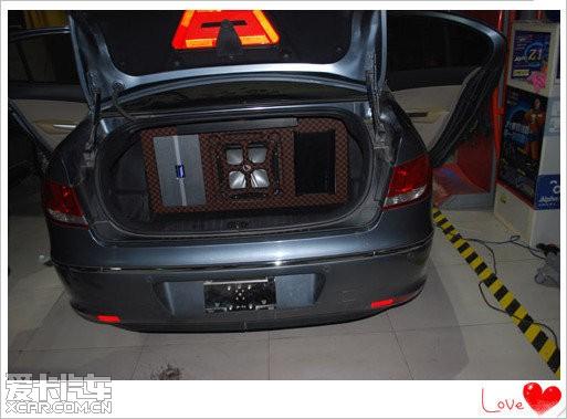 石家庄汽车音响博美特标致408汽车音响改装高清图片